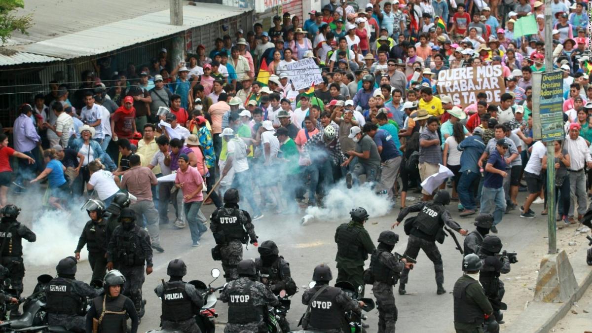 La democracia boliviana en peligro